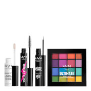 NYX Professional Makeup Worth the Hype Ultimate Brights Eye Kit