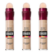 Maybelline Eraser Eye Concealer Light x 3