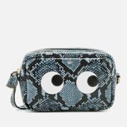 Anya Hindmarch Women's Mini Eyes Cross Body Bag - Night Sky
