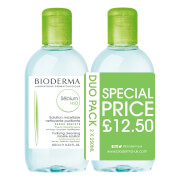 Solution Micellaire Nettoyante Purifiante Sébium H₂O Bioderma 250 ml (lot de 2)