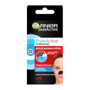 Garnier Pure Active Intensive Anti Blackhead Charcoal Nose Strips