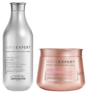 L'Oréal Professionnel Serie Expert Silver Shampoo and Vitamino Masque Duo