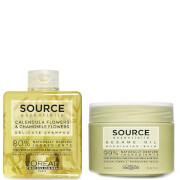 L'Oréal Professionnel Source Essentielle Sensitive Scalp Shampoo and Dry Hair Balm Duo