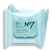 No7 Radiant Results Revitalising Wipes Value Pack 2.5oz