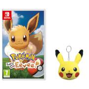 Pokémon: Let's Go, Eevee! +Pikachu Keychain