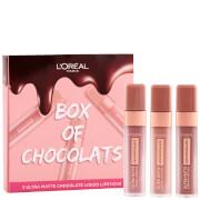 L'Oréal Paris Box of Chocolates Ultra-Matte Liquid Lip Gift Set