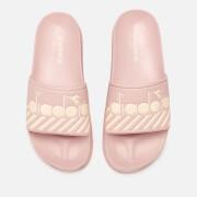 Diadora Women's Serifos 90 Wide Barra Slide Sandals - Rose Smoke