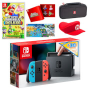Nintendo Switch New Super Mario Bros. U Deluxe Pack + £30 eShop Credit