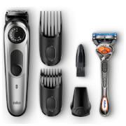 Braun BT5060 Beard Trimmer - Black/Metallic Silver