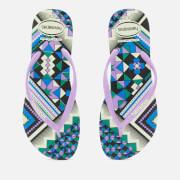 Havaianas Women's Slim Tribal Flip Flops - Apple Green
