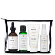 Philip B Four Step Hair & Scalp Treatment Travel Set (Incl. Paraben Free Formula Conditioner)