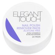 Elegant Touch Nail Polish Remover Pads (20 Pads)