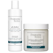 Christophe Robin Detangling Gelée and Cleansing Purifying Scrub with Sea Salt 250ml
