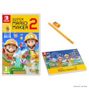 Super Mario Maker 2 + Carpenters Pad and Pencil Set
