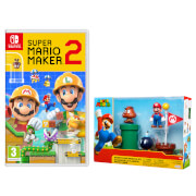 Super Mario Maker 2 + Diorama Set