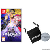 Fire Emblem: Three Houses + Collectible Coin and Pouch