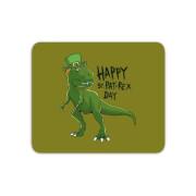 Happy St Pat-Rex Mouse Mat