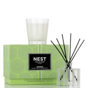 NEST Fragrances Limited Edition Bamboo Petite Candle and Reed Diffuser Set