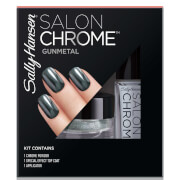 Sally Hansen Salon Chrome Kit - Gunmetal