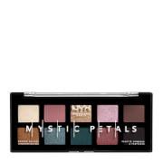 NYX Professional Makeup Mystic Petals Eye Shadow Palette 8g - Dark Mystic