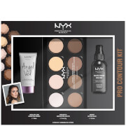 NYX Professional Makeup Pro Contour Gift Set (Worth $53)