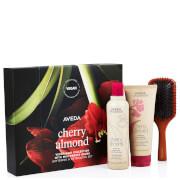 Aveda Cherry Almond Hair and Mini Paddle Brush 500ml