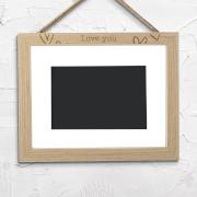 Love You Landscape Frame