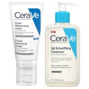 CeraVe Smoothing Skin Night Time Bundle