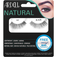 Ardell Natural Lashes 117, Schwarz