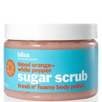 bliss Sugar Scrub Body Polish- Blood Orange & White Pepper (330g)