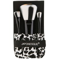 Set de brocha y pinceles Safari Chic de Japonesque