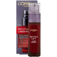 Dermo Expertise Revitalift Laser Renew Anti-Aging Triple Action Super Serum de L'Oreal Paris (30ml)
