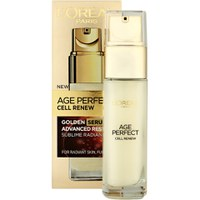 L'Oreal Paris Age Perfect Zell Renaissance Advanced Restoring Golden Serum 30ml
