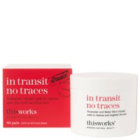 this works In Transit No Traces disques démaquillants (60 disques)