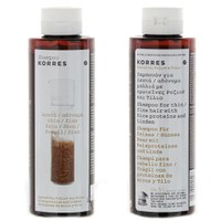 KORRES Shampoo Rice Proteins and Linden For Thin And Fine Hair (250ml)