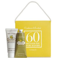 Set de productos de manos de limón de Crabtree & Evelyn 60 Second Fix