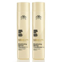 label.m Brightening Blonde Shampoo und Conditioner (300ml)