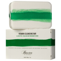 Jabón dermolimpiador Vitamin Cleansing Bar de Baxter of California - lima italiana 198 g