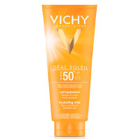 Vichy Ideal Soleil Face og Body Milk SPF 50 300ml.