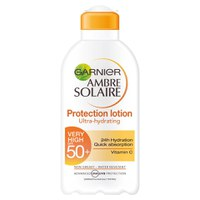 CremaSPF50 con vitamina CAmbre Solaire de Garnier(200 ml)
