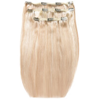 Beauty Works Deluxe Clip-In-Hair -Extensions 18 Zoll - Champagne Blonde 613/18