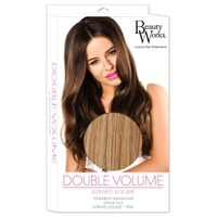 Extensions de cheveux Remy Double Volume de Beauty Works - Blond foncé 10/14/16