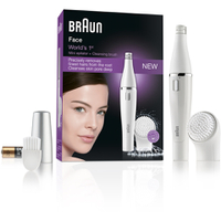 Braun 810 Facial Epilator og Cleansing Brush
