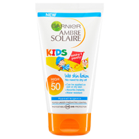 Garnier Ambre Solaire Kids Wet Skin Lotion LSF 50 (150ml)
