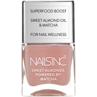 nails inc. Powered by Matcha King William Walk Sweet Almond Nagellack 14ml