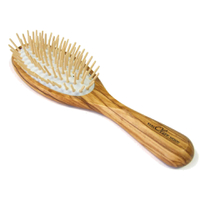 Hydrea London  Hair BrushBrosse à cheveux antistatique en bois d'olivier