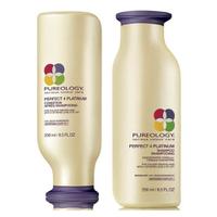 Pureology Perfect 4 Platinum Shampoo and Conditioner (250ml)