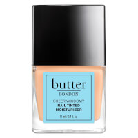 Hidratante para Uñas con Color Sheer Wisdom de butter LONDON 11 ml - Claro