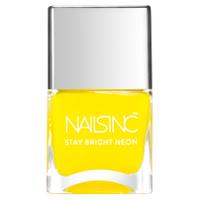 nails inc. Golden Lane Nagellack- Neon Yellow 14ml