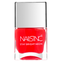 nails inc. Great Eastern Street Nagellack - Neon Coral 14ml
